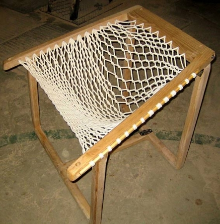 Hammock Chair Frames. Hammock Chair Lumber Air Drying. Hand Sanding Chair  Frame.