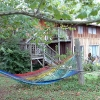 Oneida residence with rainbow hammock.