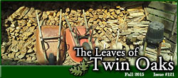 Leaves of Twin Oaks Fall 2015 #121